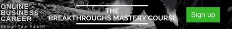 Breakthroughs Mastery Course Banner 468x60